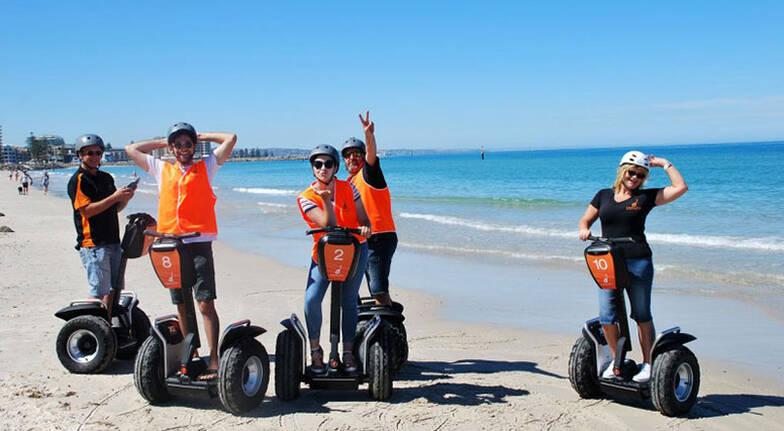 Glenelg Beach Segway Tour - 60 Minutes