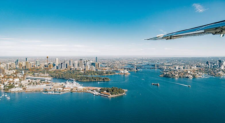 Seaplane to Berowra Waters with 6 Course Lunch  For 2