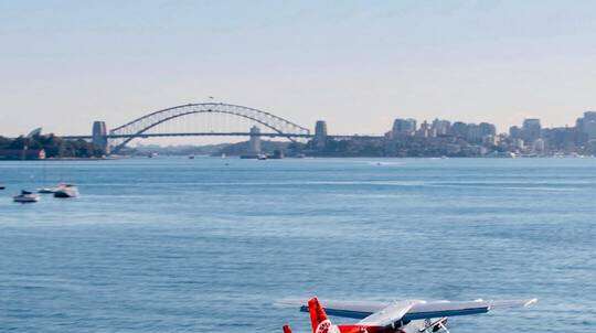 Seaplane Flight with 3 Course Lunch and Champagne - For 2