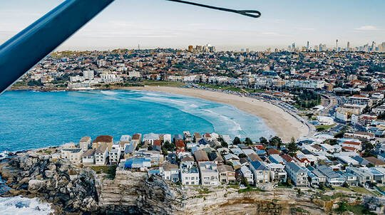 Seaplane Flight over Sydney with Champagne Brunch - For 2