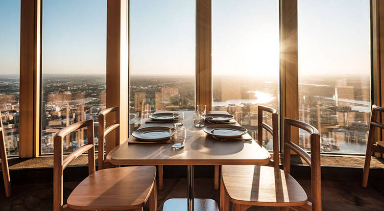Unlimited Dinner at SkyFeast Sydney Tower  Weekend  For 2