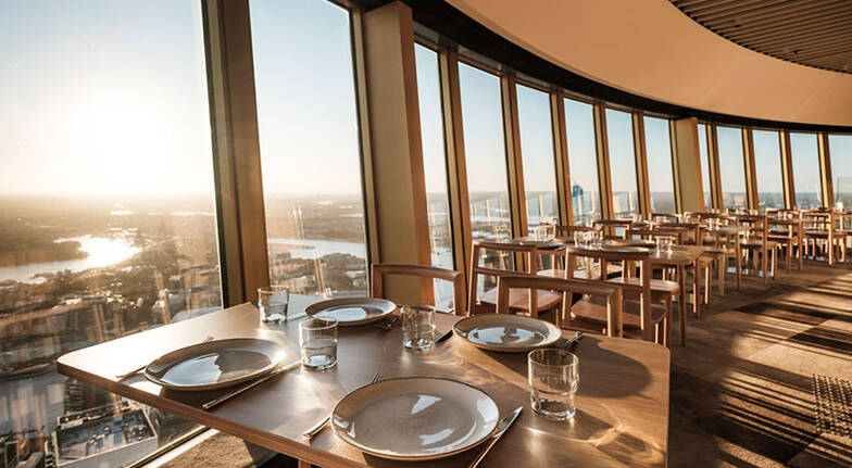 Unlimited Lunch at SkyFeast Sydney Tower  Weekday  For 2