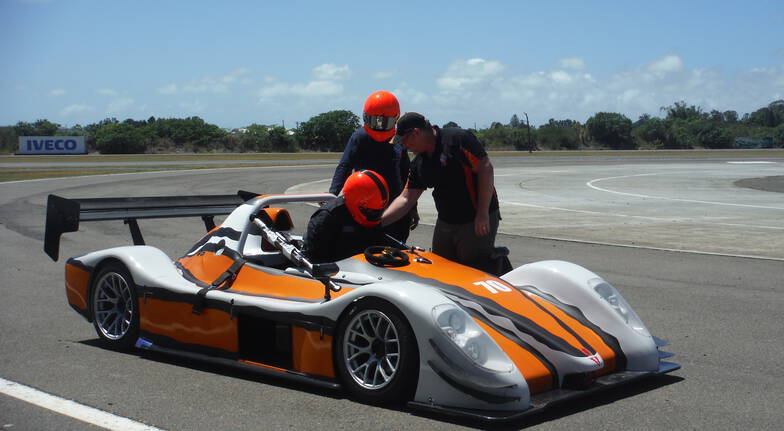 Radical Race Car Hot Lap Experience - QLD Raceway - 3 Laps