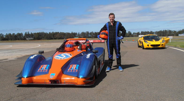 Radical Race Car Driving Experience - QLD Raceway - 8 Laps