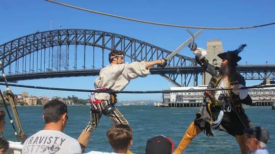 Live Action Pirate Tallship Adventure Cruise