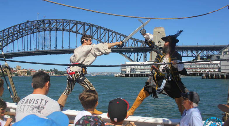 Live Action Pirate Tallship Adventure Cruise - Family