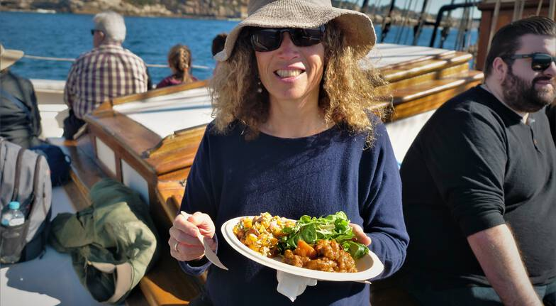 Sydney Whale Watching Cruise on a Tall Ship with Lunch