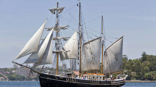 Tall Ship Cruise with Buffet Lunch - 2 Hours