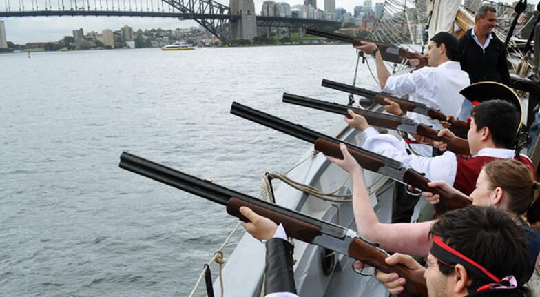 Tall Ship Cruise, Mast Climb and Clay Shooting - Adult