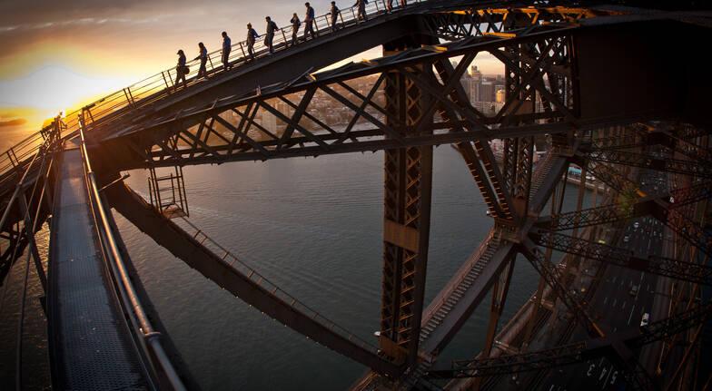 Sydney Harbour Bridge Twilight - Child