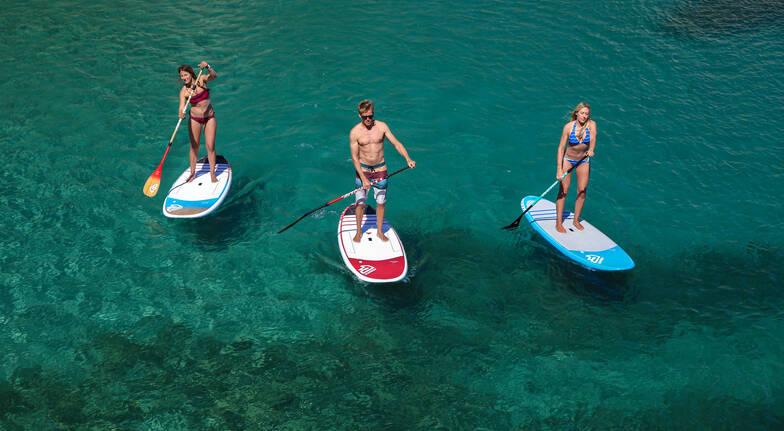 Stand Up Paddle Board Rental - St Kilda Beach - 60 Minutes