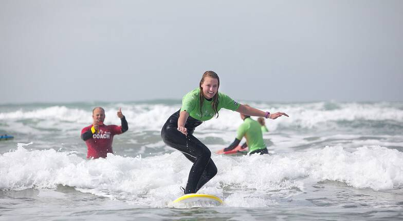 Surfing Lesson at Middleton Beach - 2 Hours