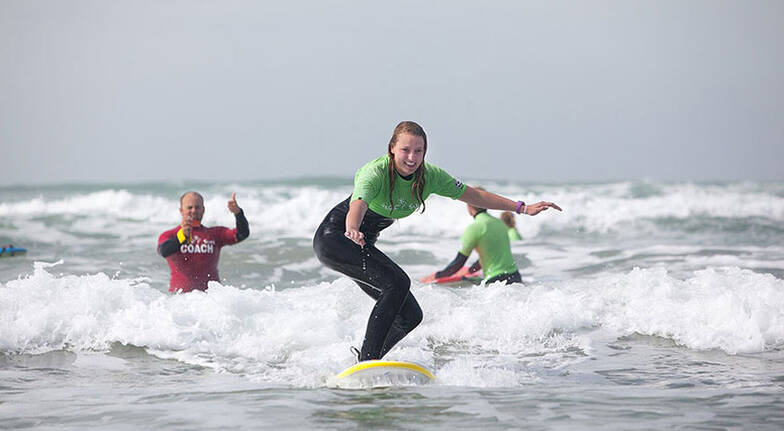 Surfing Lesson at Long Beach  2 Hours