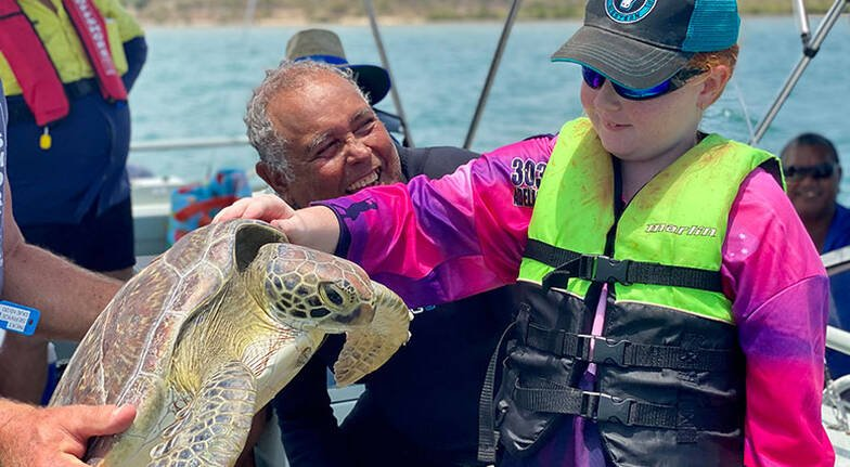 Release a Turtle Research Boat Tour
