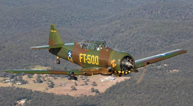 Aerobatic Adventure Flight in World War 2 Warbird Plane
