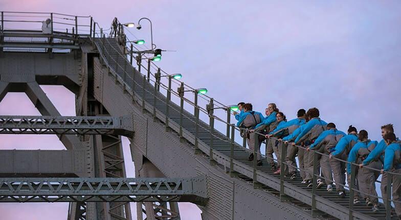 Brisbanes Story Bridge Twilight Climb