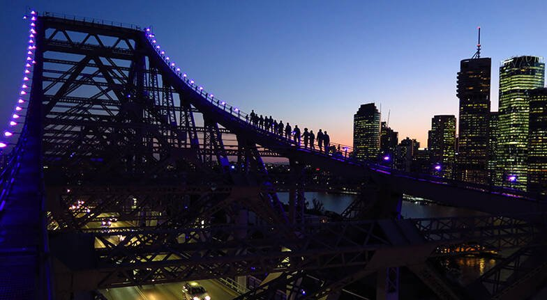 Brisbanes Story Bridge Twilight Climb  For 2
