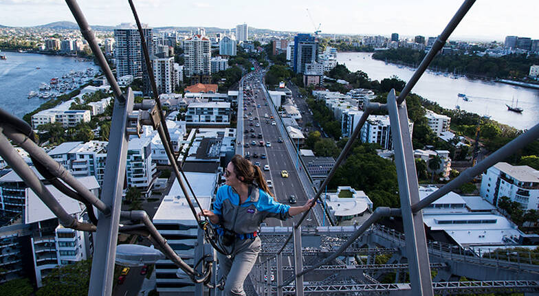 Brisbanes Story Bridge Climb and Walk The Plank  Daytime