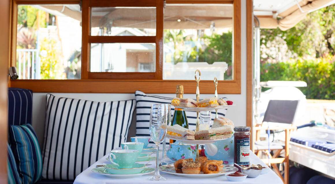 Private High Tea at Sea - For 2 - Weekday