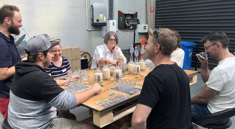Gin Masterclass with Tasting Paddle and Take Home Bottle