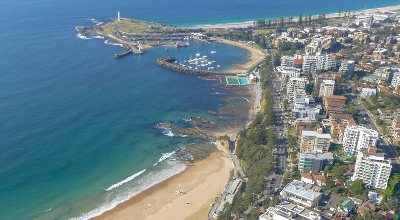 Wollongong Beaches Scenic Helicopter Flight - 30 Minutes