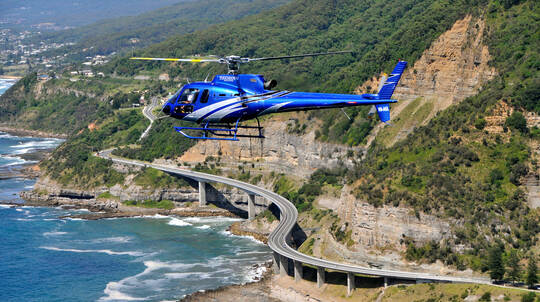 Wollongong Seacliff Bridge Helicopter Flight - 45 Minutes