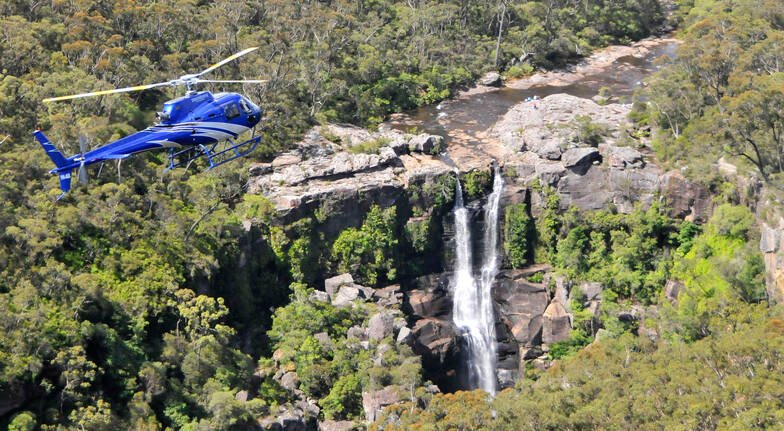 Waterfall and Canyon Helicopter Tour - 45 Minutes