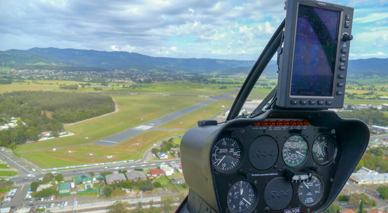 Scenic Helicopter Flight over Wollongong - 15 Minutes