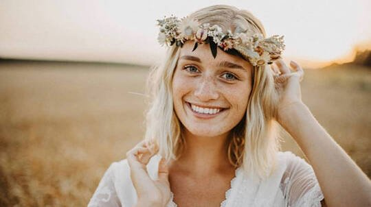 2 Hour Everlasting Dried Flower Crown Workshop - For 10