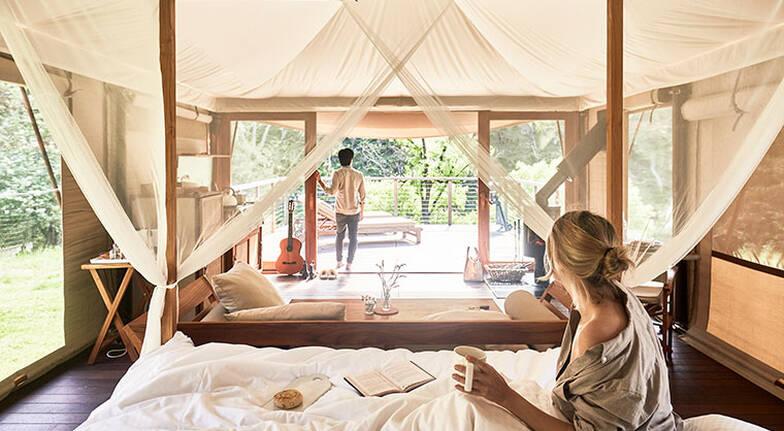 Romantic Weekend Glamping Getaway  3 Nights  For 2