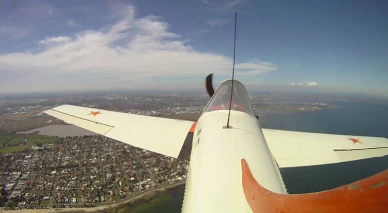 Joy Flight in a Yak 52 with Aerobatics - 35 Minutes