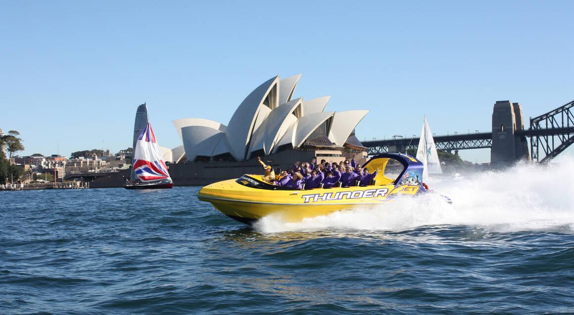 Jet Boat Ride on Sydney Harbour - 45 Minutes