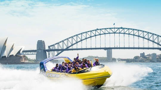 Jet Boat Ride on Sydney Harbour - 45 Minutes