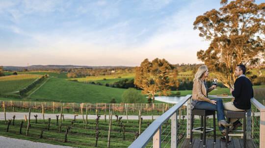 Adelaide Hills Hop-On-Off Wine Tour - City Return