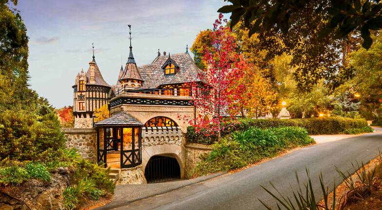 Romantic Castle Escape with Winery Tour
