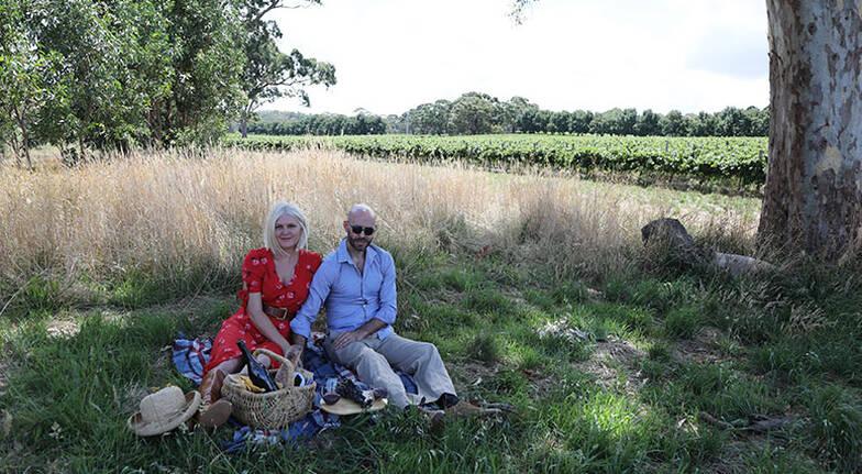 Adelaide Hills Vineyard Picnic - For 2