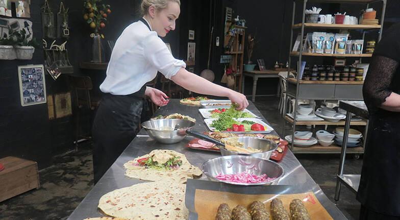 Kebab Middle Eastern Street Food Workshop - For 2