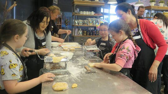 Parent and Child Pasta Making Workshop - For 2