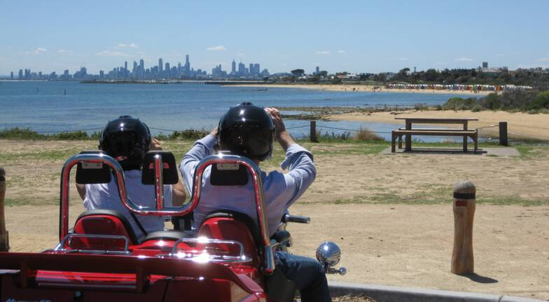 Melbourne Private Trike Hire with Driver - 2 Hours - For 2