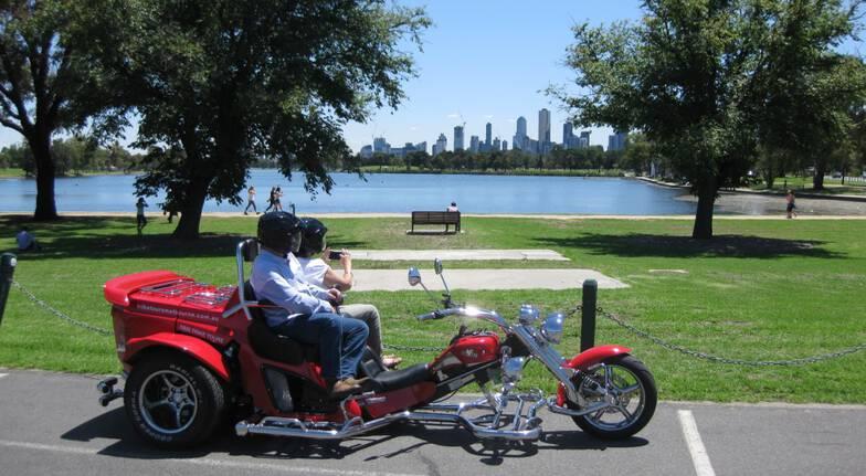 St Kilda Beach Trike Tour - For 2