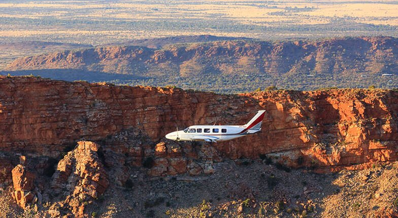 Scenic Flight over Alice Springs and the MacDonnell Ranges