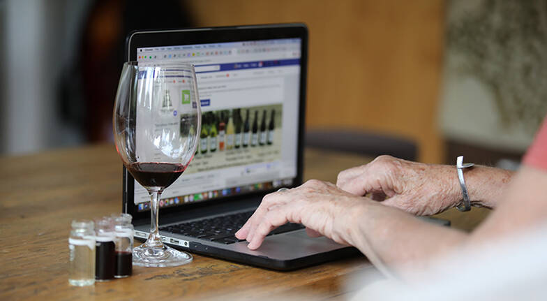 Virtual Wine Tasting At Home with Wine Pack
