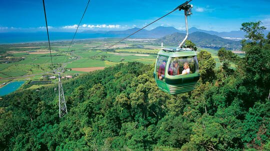 Kuranda Day Tour with Railway, Skyrail and Lunch – Adult