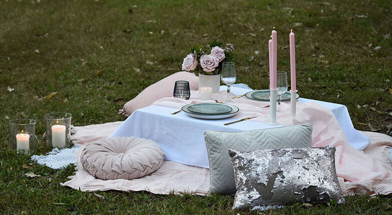 Romantic Wilderness Picnic Proposal Package