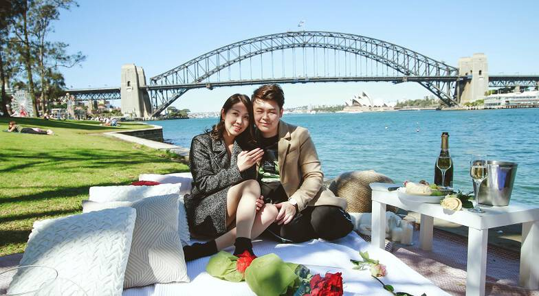 Proposal Package: Romantic Picnic