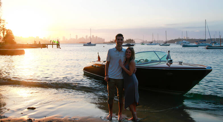 Private Timber Boat Cruise with Beach Picnic - For 2