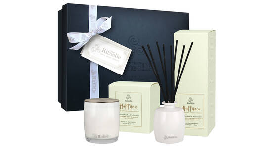 Candle and Diffuser Gift Set - Lemongrass and Mandarin