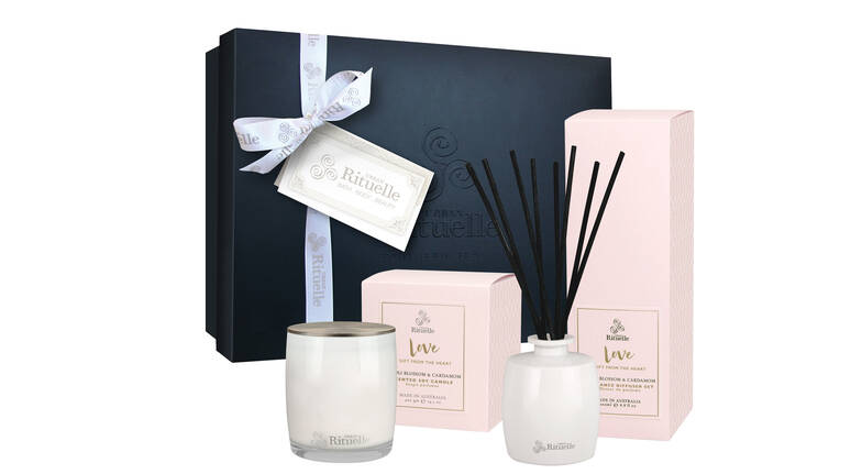 Candle and Diffuser Gift Set - Neroli Blossom and Cardamom