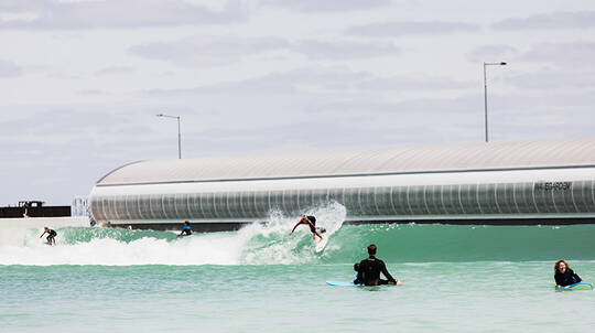 Intermediate Surf Session at URBNSURF - Weekend