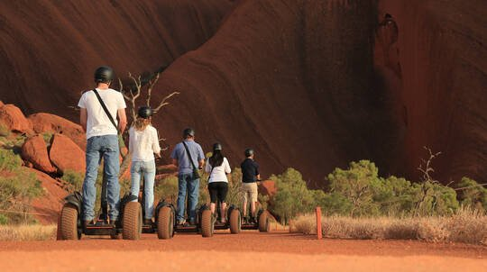 Uluru By Segway Sightseeing Tour with Transfers
